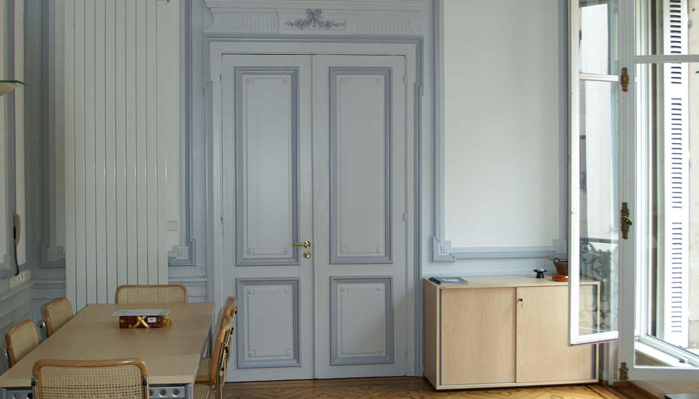 Réalisations en peintures intérieures ambiance et syles Avant