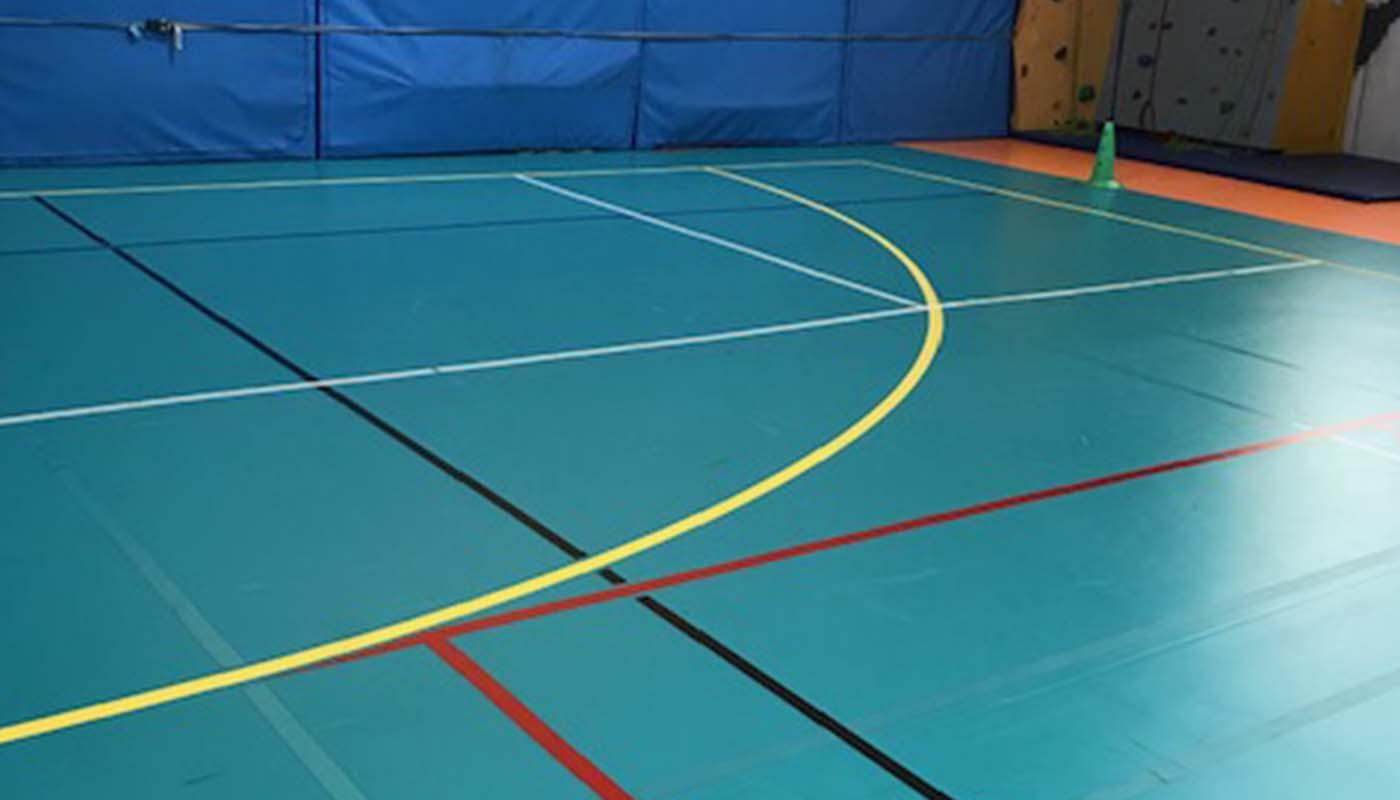 Réalisations en revêtements de sols salles de sport Après